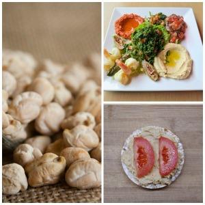 Post 6 Hummus collage