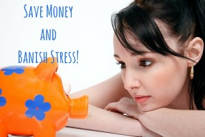 Save MoneyandBanish Stress!